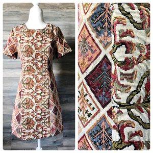 ASOS fashion Union tapestry needlepoint dress